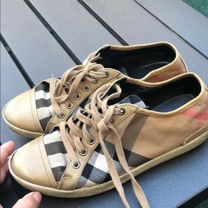 Authentic Burberry sneakers for women size 37
